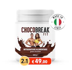 Chocobreak Fit - commenti - ingredienti - erboristeria - come si usa - composizione