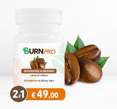 BurnPro - commenti - ingredienti - erboristeria - come si usa - composizione