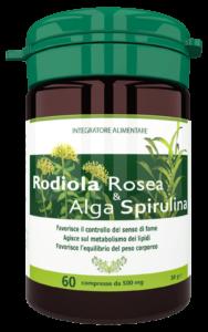Rodiola&Spirulina - erboristeria - come si usa - commenti - ingredienti - composizione
