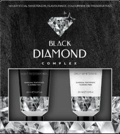 Black diamond - come si usa - composizione - commenti - ingredienti - erboristeria