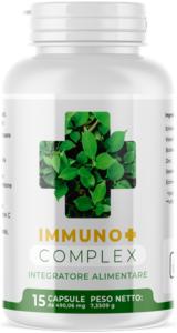 IMMUNO+ Complex - erboristeria - commenti - come si usa - composizione - ingredienti