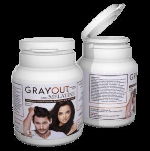 Grayout Con Melatine - erboristeria - come si usa - composizione - commenti - ingredienti