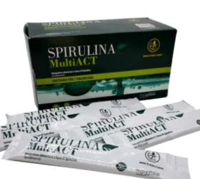 Spirulina MultiACT - erboristeria - come si usa - composizione - commenti - ingredienti