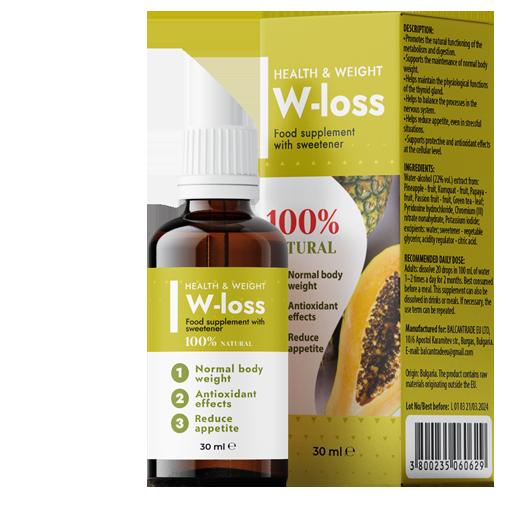 W-Loss - commenti - ingredienti - erboristeria - come si usa - composizione